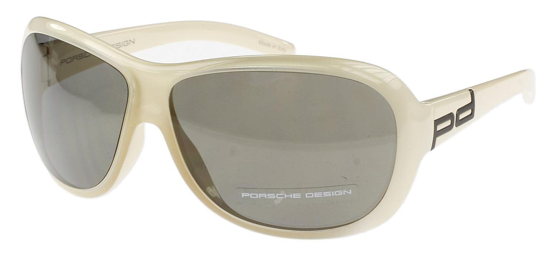 Porsche - Gafas de sol - para mujer Blanco Marfil: Amazon.es ...