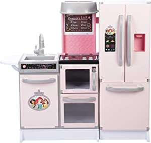 Disney Princess Style Collection Gourmet Smart Kitchen with Lights & Sounds! 20+ Accessories!