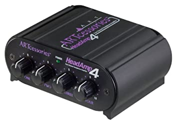 ART HeadAmp 4 - amplificadores para audífonos (3.5mm / 6.3mm, 20-