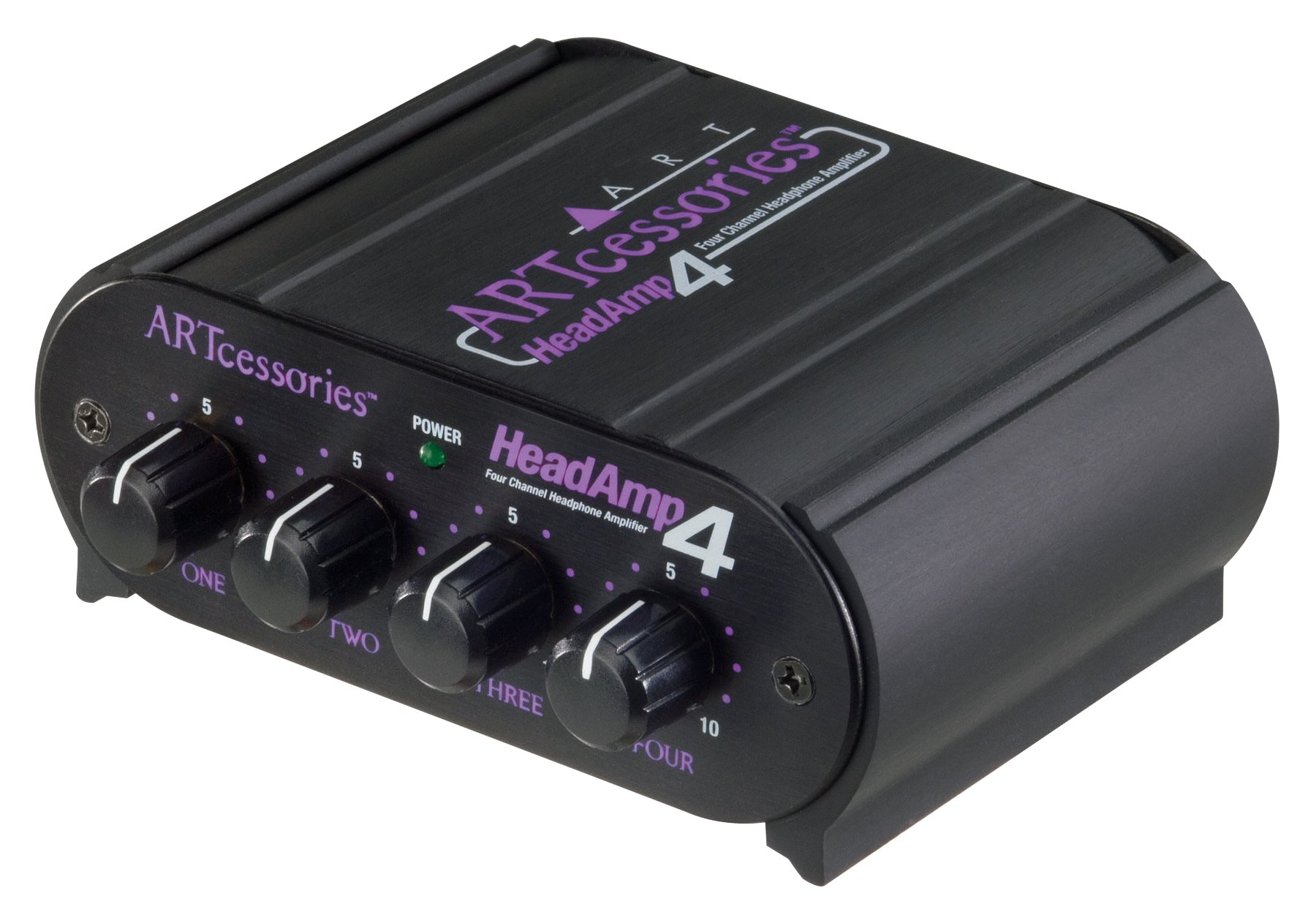 Art Pro Audio Headamp 4 Four Channel Headphone Amplifier Using Discrete Components Musical Instruments