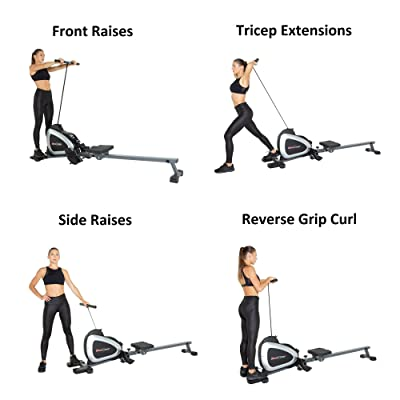 Fitness Reality 1000 Magnetic Rower with Plus Bluetooth