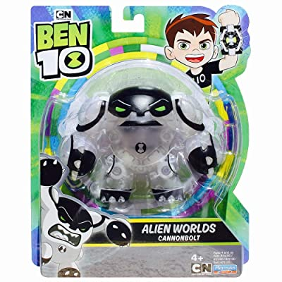 Ben 10 2020 Alien Worlds Cannonbolt: Toys & Games