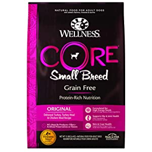 Wellness Core Natural Grain-Free Dry Dog Food Small Breed