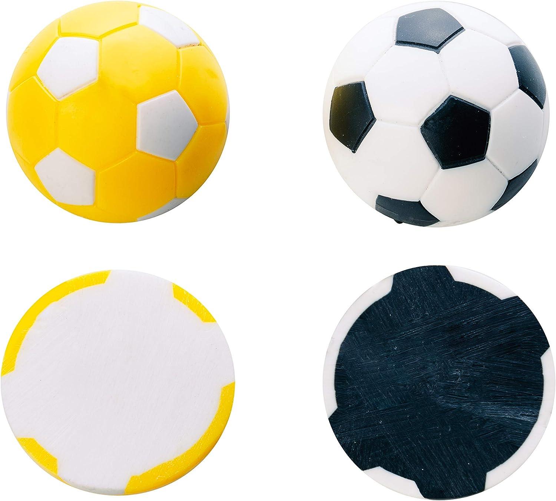 Manuel Gil Bola futbolin Robertson Amarilla Negra 24gr 35mm 10unid ...