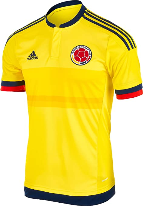 adidas Colombia Casa fútbol Jersey - ADID-M62788-James-3XL, Yellow ...