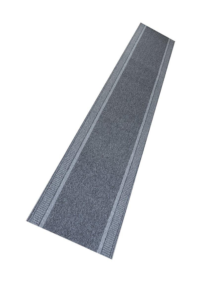 Teppich Schlingen Läufer Marathon - schadstoffgeprüft pflegeleicht     robust strapazierfähig schmutzabweisend   Diele Flur Schlafzimmer, Farbe Anthrazit, Größe 100 x 500 cm B06XSL5JK1 Lufer b55f6c