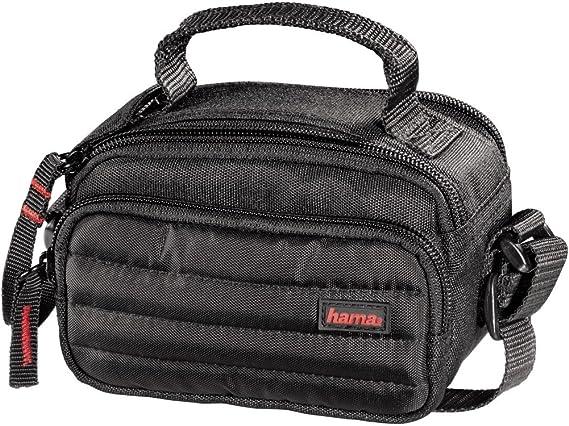Hama Kameratasche Videotasche Gepolstert Für Eine Digitalkamera Kompakte Systemkamera Und Camcorder Syscase 90 Schwarz