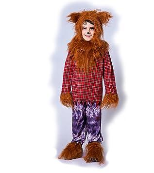 SEA HARE Disfraz de Disfraz de Halloween de Lobo Animal para niño ...