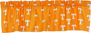 "College Covers NCAA Curtain Valance, 84"" x 15"", Tennessee Volunteers"