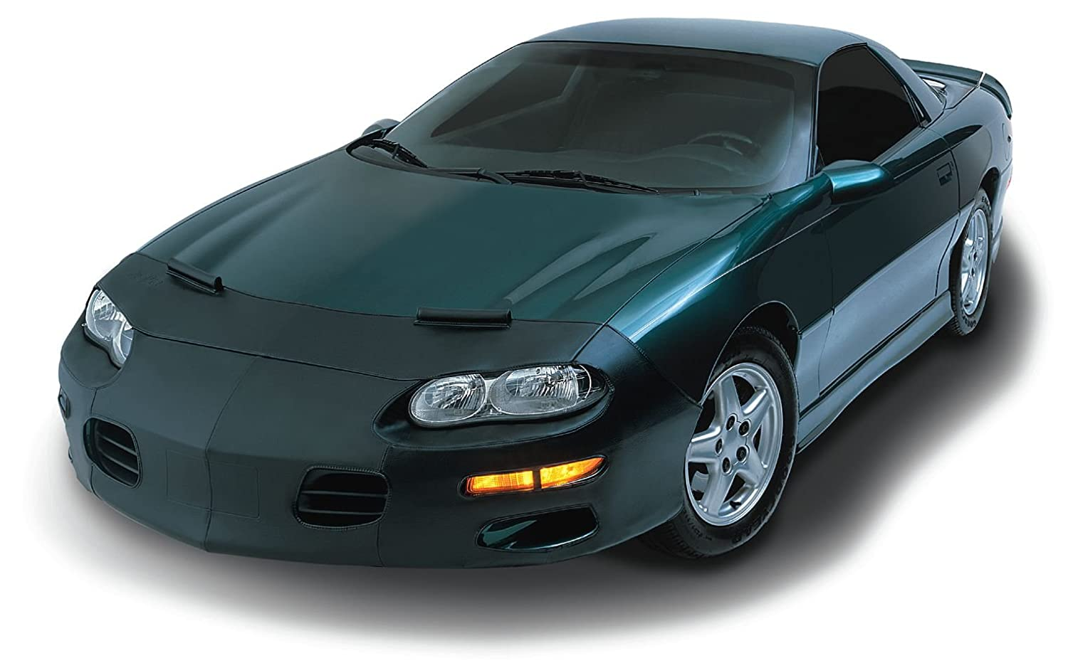 LeBra 551425-01 Each LeBra is specifically designed to your exact vehicle model. If your model has fog lights special air-intakes or even pop-up headlights there is a LeBra for you. Front End Bra LeBra Custom Front End Cover