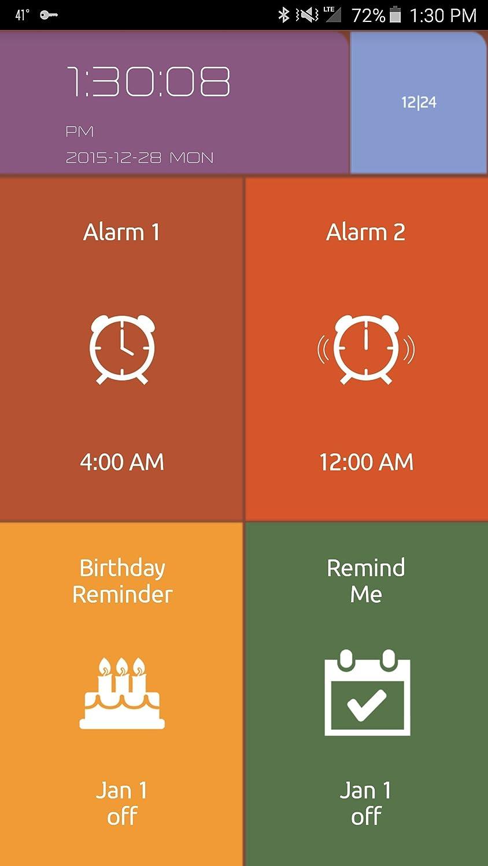Smart despertador de viaje, automáticamente de su reloj y ...