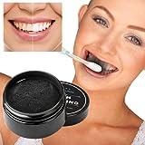Poudre de blanchiment des dents au charbon actif 30g, Activated Charcoal Teeth Whitening Powder