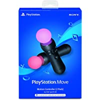 2-Pack Sony PlayStation VR Move Motion Controllers