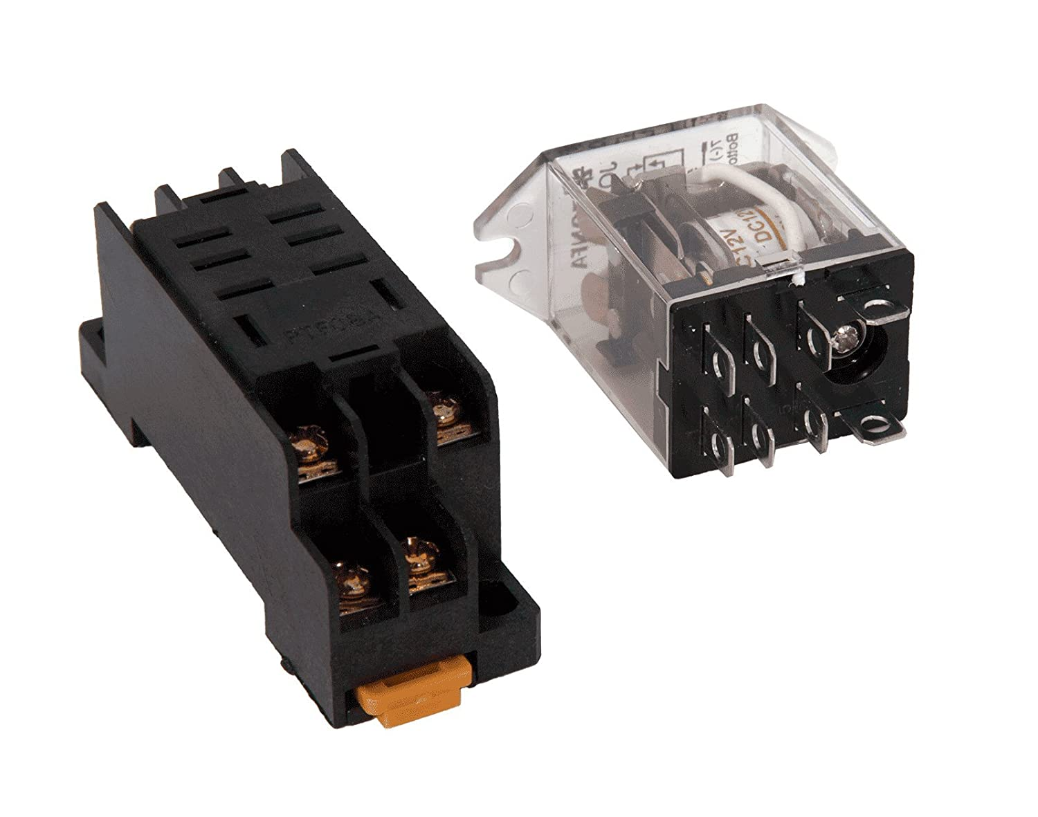 Dpdt Relay 12 Vdc 10a Socket Industrial Toggle Switch Wiring Diagram Together With Double Coil Scientific