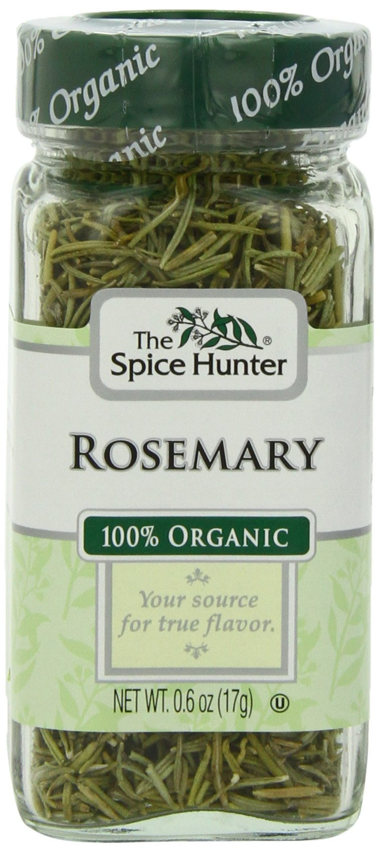 The Spice Hunter Rosemary, Organic, 0.6-Ounce Jar