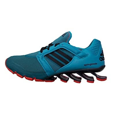 sale retailer 7ef1a 47afd Adidas AF6804, Chaussures de Course pour Homme Turquoise Türkis - Turquoise  - Türkis, 40