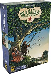 Matagot Games Okanagan: Valley of The Lakes Board Game ORG001