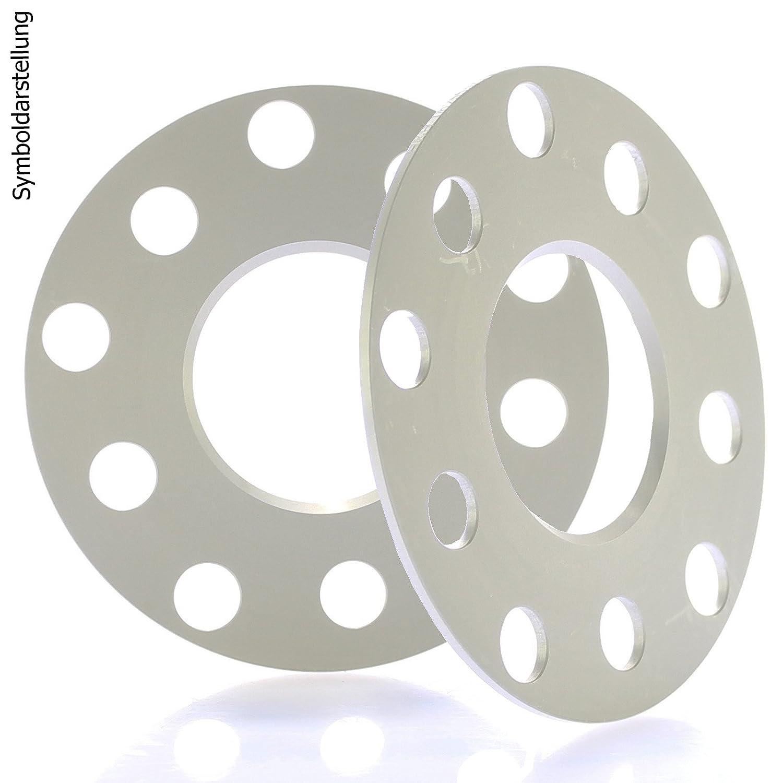 Bremsenreiniger H/&R DR Spurplatten Spurverbreiterung Distanzscheibe 5x120 10mm //// 2x5mm