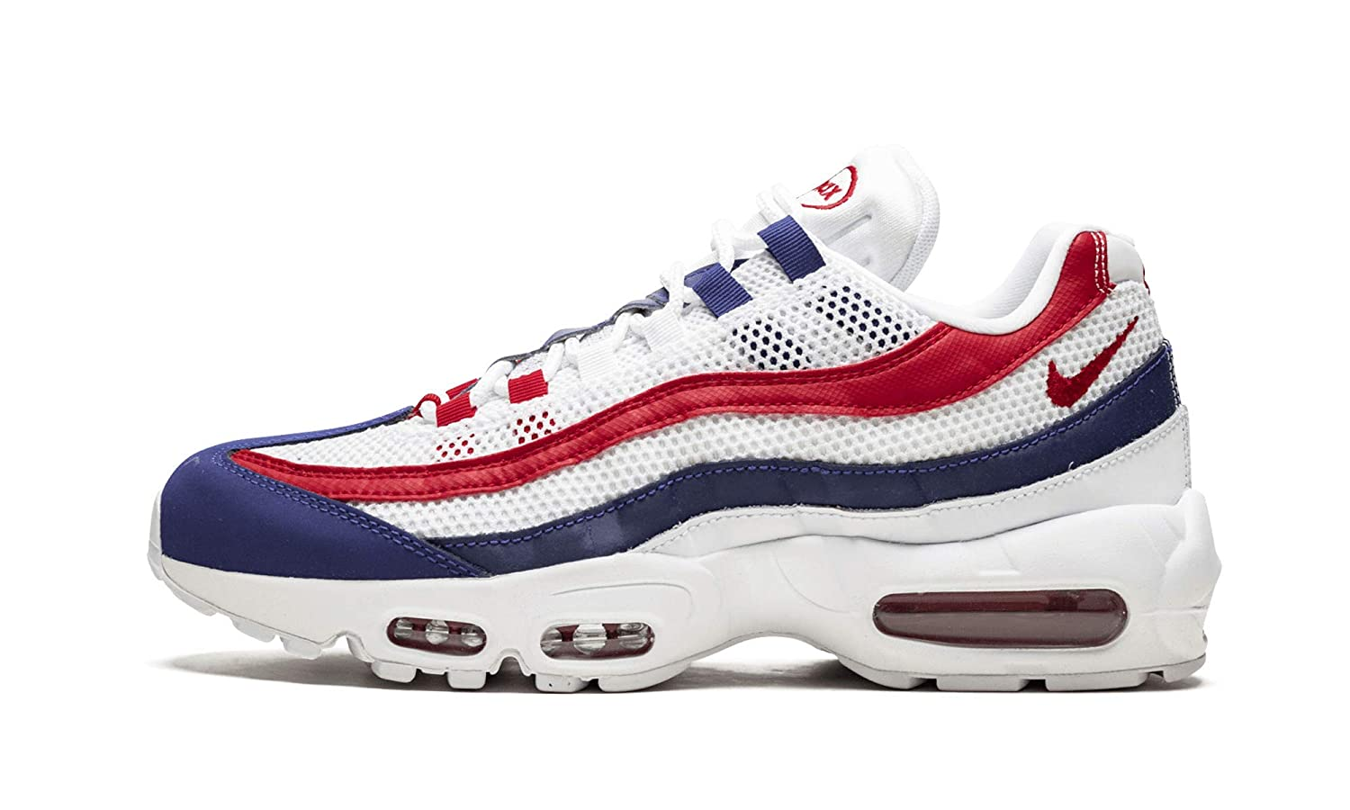 nike air max blue and red