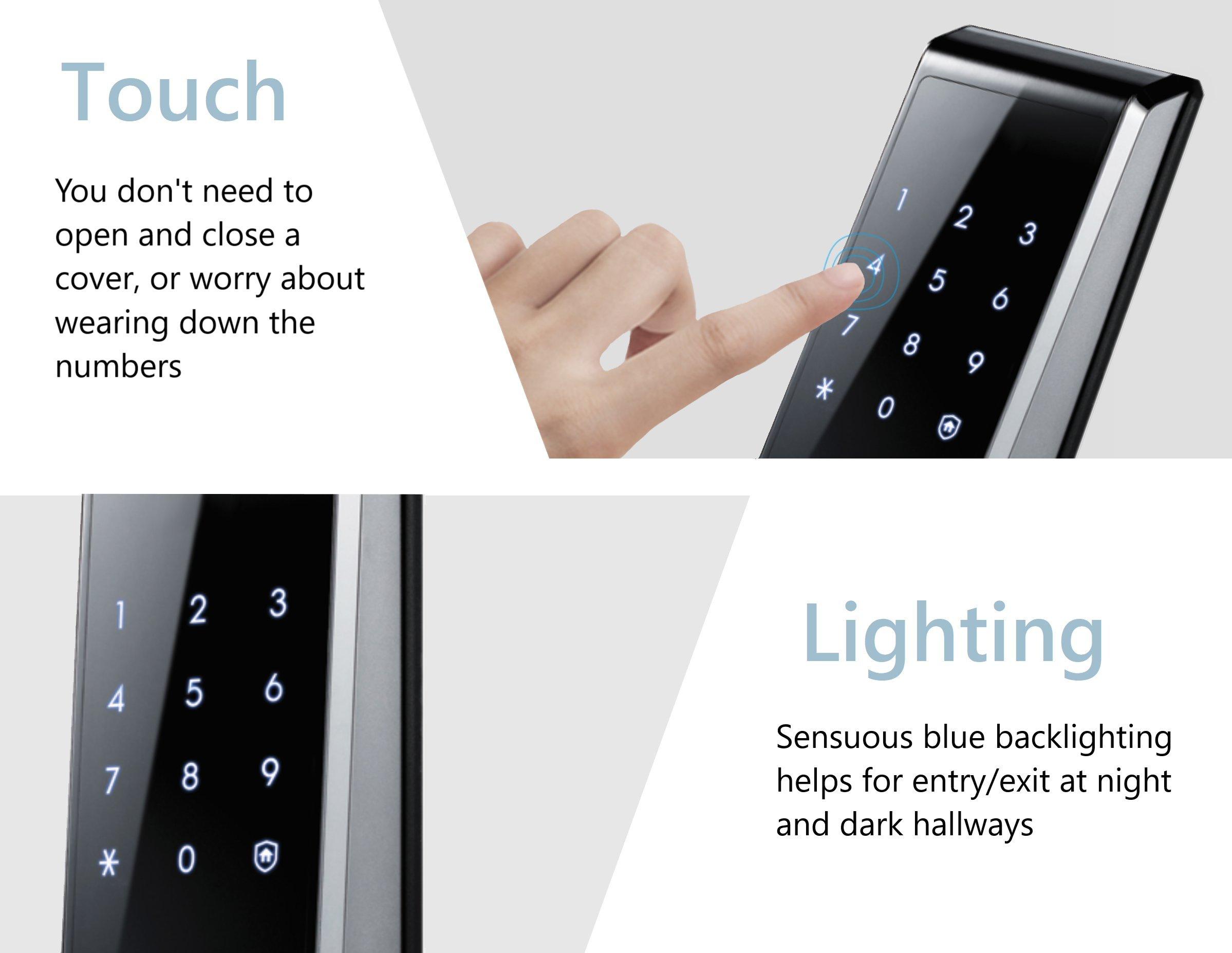 Samsung Shs H705 Fmk Biometric Digital Door Lock