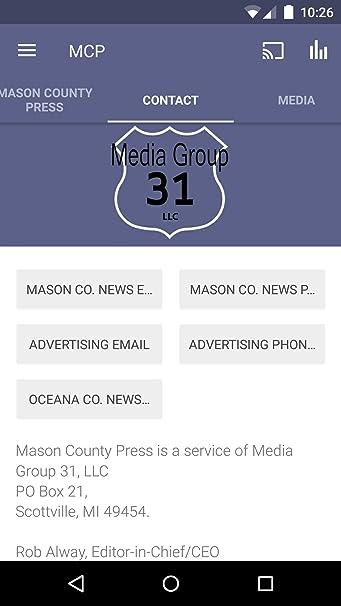 Amazon com: Mason County Press: Appstore for Android