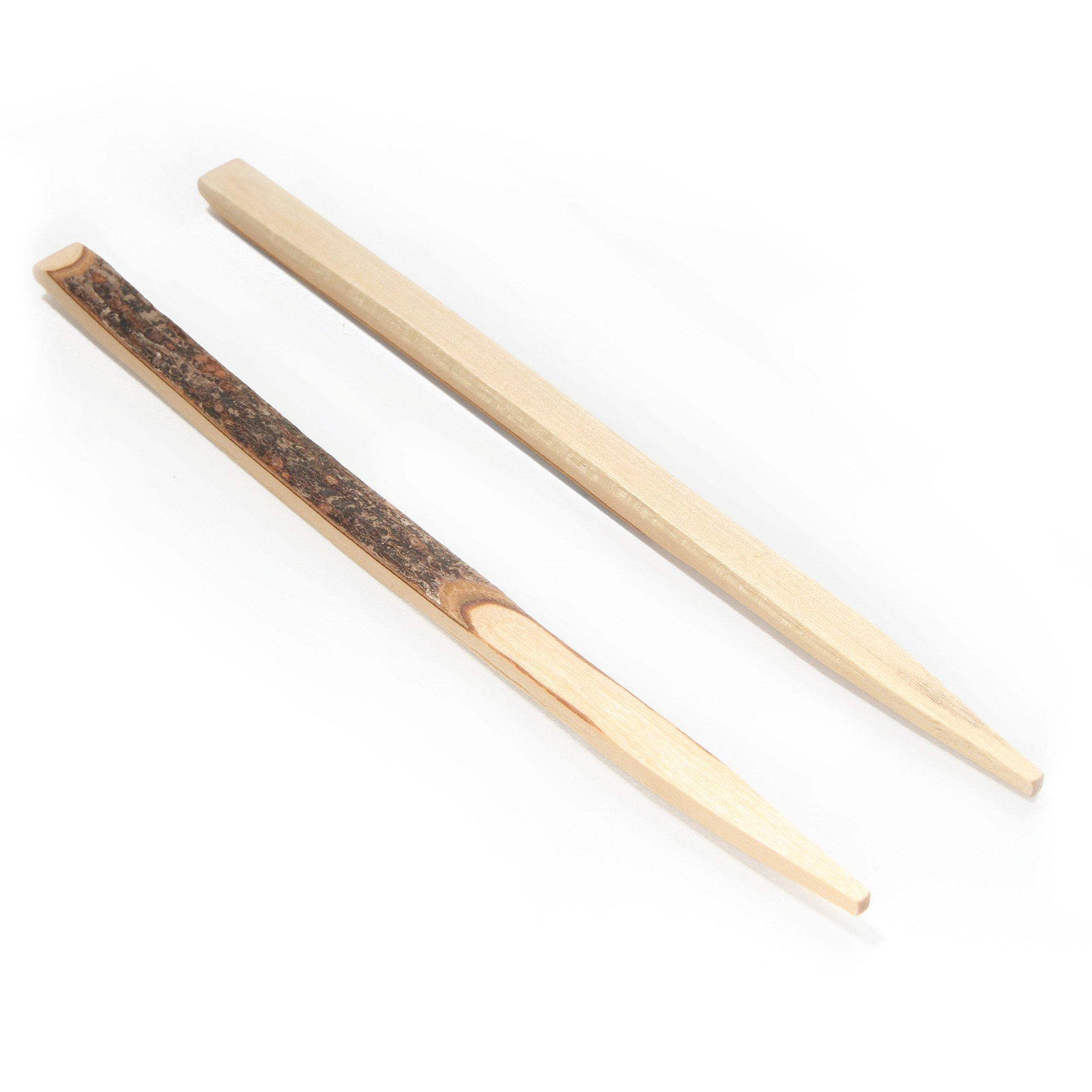 BambooMN Brand - Decorative Black Willow Appetizer Picks - 4.75'' (12cm) - 1000 Pieces