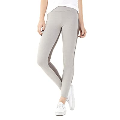 Alternative Women's Wild Coast Legging, Mock Nickel/Eco Black, X-Small at Women's Clothing store