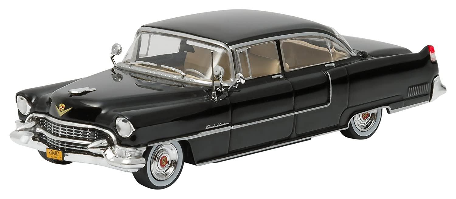 Greenlight Hollywood The Godfather 1972 1955 Cadillac Fleetwood Series 60 Special 1 43 Scale Vehicle Black