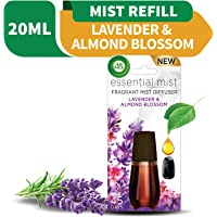 Air Wick Essential Mist Fragrance Diffuser Refill, Lavender and Almond Blossom, 20ml