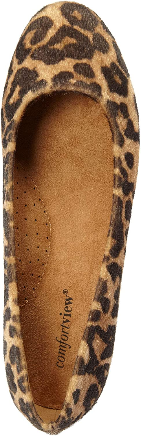 Comfortview Womens Wide Width The Beth Flat