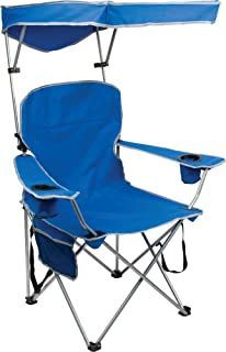 Quik Shade Full Size Shade Folding Chair Royal Blue  sc 1 st  Amazon.com & Amazon.com : Quik Shade Adjustable Canopy Folding Camp Chair - Royal ...