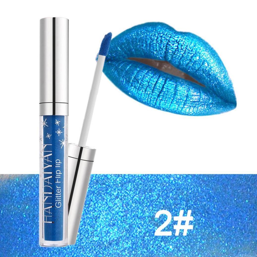 XEDUO Fashion Waterproof Long Lasting Liquid Velvet Matte Lipstick Makeup Lip Gloss Lip for Women (02#)