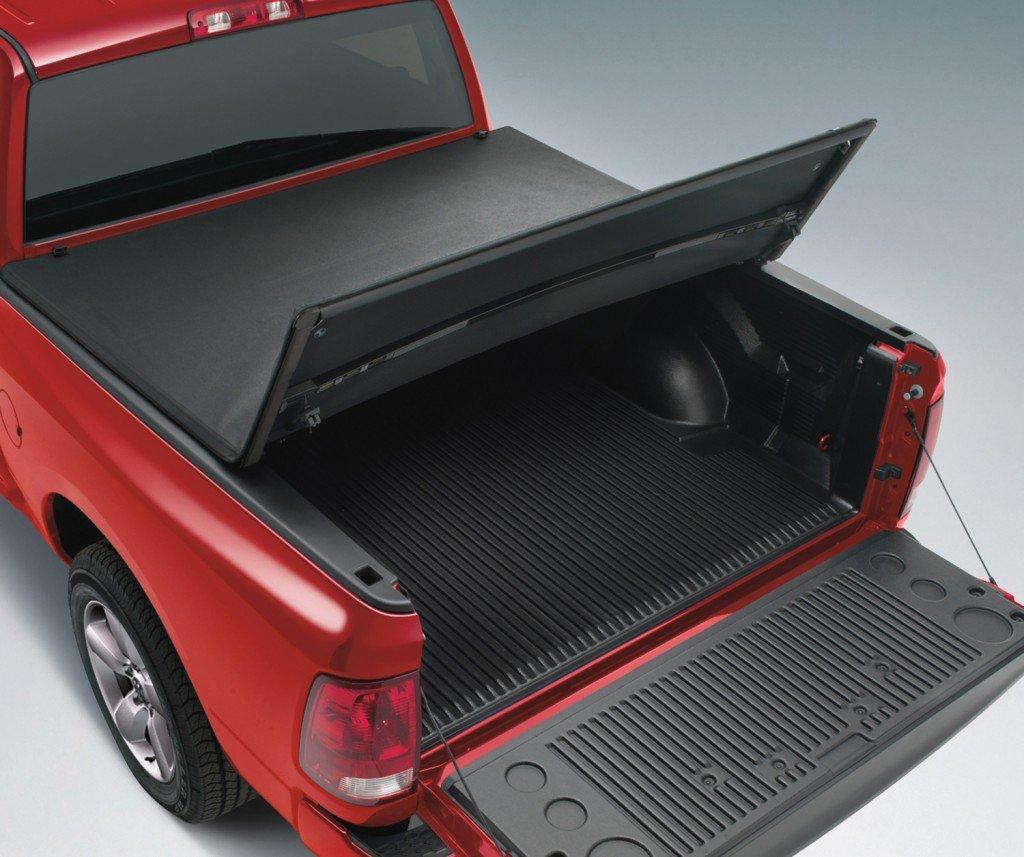 スーパードライブtt005 tri-foldソフトTonneau Truckベッド用カバー2005 – 2011 Dodge Dakota Quad Cab 6.5 Ftベッド( Excludes Utilityトラックモデル) B071LHNBJD