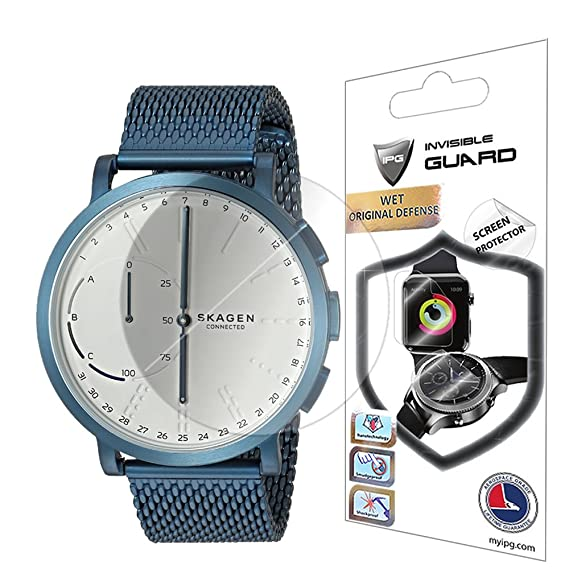 IPG for Skagen SINGATUR & Hagen Connected Smartwatch Screen Protector (2 Units) Invisible Ultra