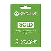 Microsoft Xbox Live Gold Subscription Card - Microsoft Xbox 360 - subscription licence ( 3 months )