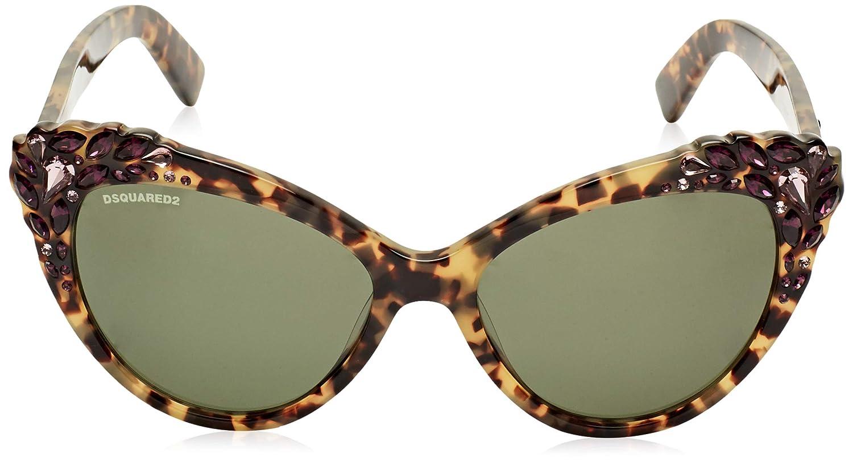 Amazon.com: Dsquared2 DQ0168_55N - Gafas de sol: Clothing