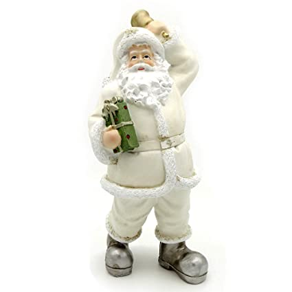 Santa Clause Figure Father Christmas Ornament Figure Statue