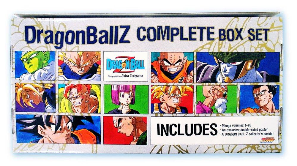 English Manga Graphic Novels Set NEW Dragon Ball Z v. 1-26