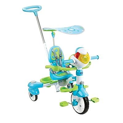 VTech- Triciclo Inteligente Evolutivo 4 en 1 tek-Trike, Color Verde (3480-196822): Juguetes y juegos