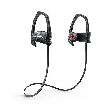 VLOXO Auriculares Deportivos Inalámbricos con Tecnología Bluetooth ...