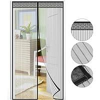 Puerta mosquitera 210 x 90 cm, protección contra