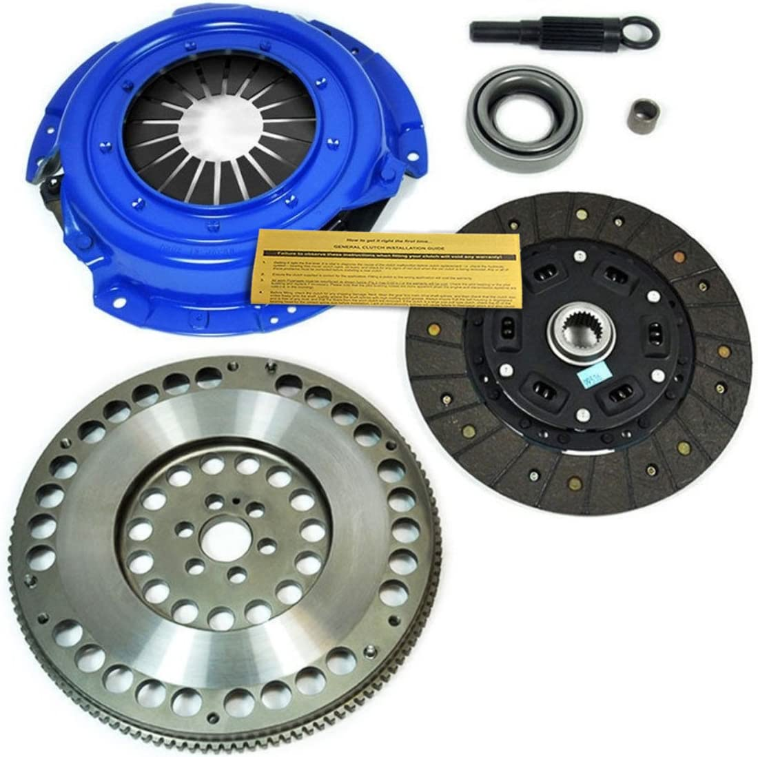 EF STAGE 1 SPORT CLUTCH KIT/& 11.5 LBS RACE LIGHT FLYWHEEL for 91-98 NISSAN 240SX