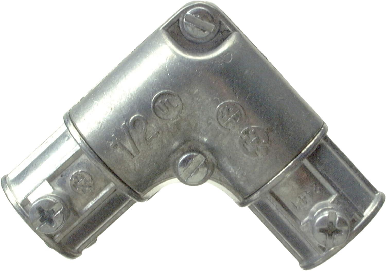 Halex, 3/4 in. Electrical Metallic Tube (EMT) Inside Corner Pull Elbow , 14607, 1 per pack