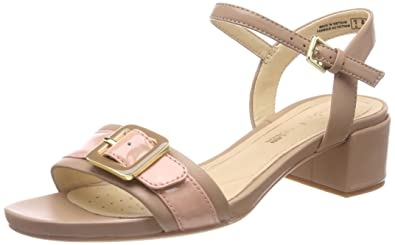 9be56681993 Clarks Women s Orabella Shine Ankle Strap Sandals  Amazon.co.uk ...