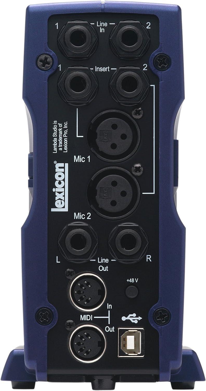 Amazon.com: Lexicon LAMBDA computadora Estudio de grabación ...