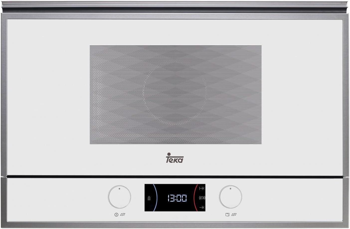 Teka ML 822 bis Microondas con grill, 2500 W, 22 litros, Otro, BLANCO