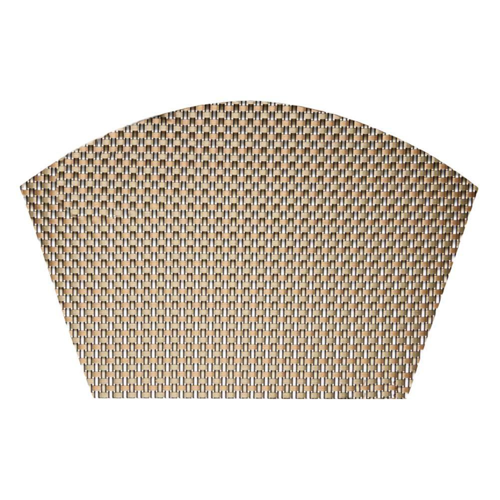 Window-pick 5PCS Multi Functional Non Slip Insulation Mat Pvc Pad,Placemat Heat-Resistant Pvc Table Mat For Home Kitchen Office