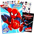 Marvel Spiderman Coloring Book Bundle with Over 300 Bonus Spiderman Stickers