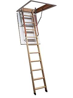 Aurora Thermo Folding Timber Attic Loft Ladder Insulated Hatch