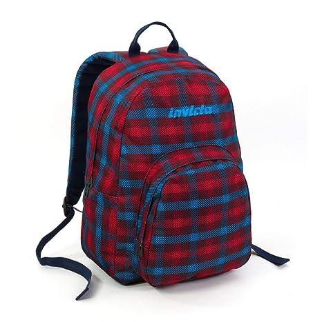 e5a8a33104 ZAINO INVICTA - OLLIE PACK II - multicolo - rosso - tasca porta pc padded -